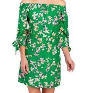 New  Vince Camuto Summer Floral Strapless Dress